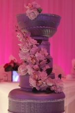 Another Closeup on the Sugar Flowers for the Stanley Cup Wedding Cake